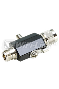 同軸避雷器LP N MALE TO N FEMALE 2.4GHz